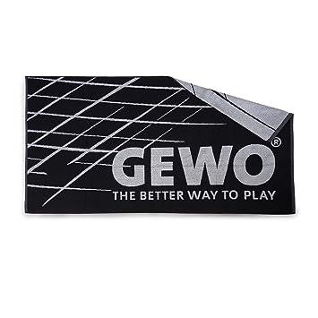 GEWO Handtuch Game XL Schwarz/Silber Toalla de Mano, Unisex, Negro/Plata, Extra-Large: Amazon.es: Deportes y aire libre