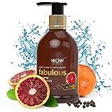 WOW Fabulous Foaming Body Wash - Blood Orange & Black Pepper