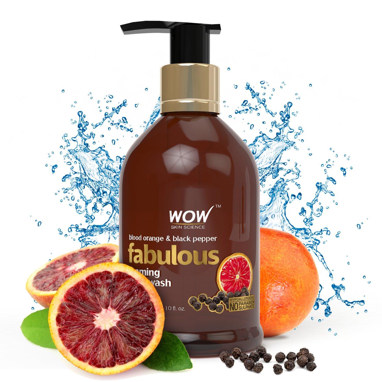 WOW Blood Orange & Black Pepper No Parabens & Sulphates