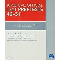 10 Actual 42-51, Official LSAT Preptests: (PrepTests 42–51)