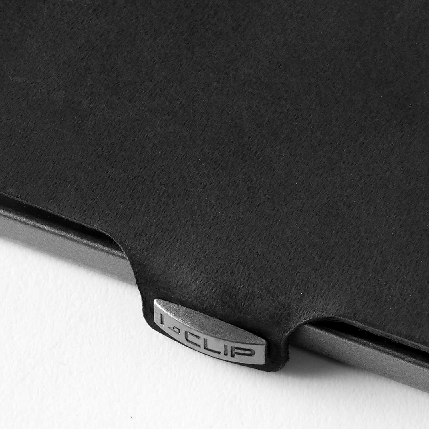 I-CLIP Soft Touch Slim Wallet black available in 9 colors
