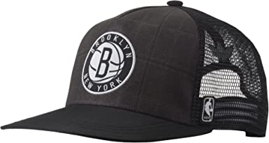 Adidas Brooklyn Nets NBA - Gorra de camionero para hombre: Amazon ...