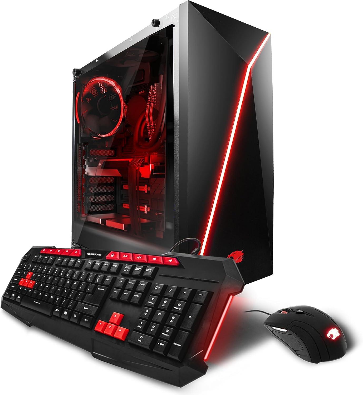 iBUYPOWER Gaming PC Computer Desktop AM1020X Intel i7-7800X 3.50 GHz, NVIDIA Geforce GTX 1080 Ti 11GB, 32GB DDR4 RAM, 3TB 7200RPM HDD, 240GB SSD, Liquid Cool, RGB, Wifi, VR Ready, Win 10