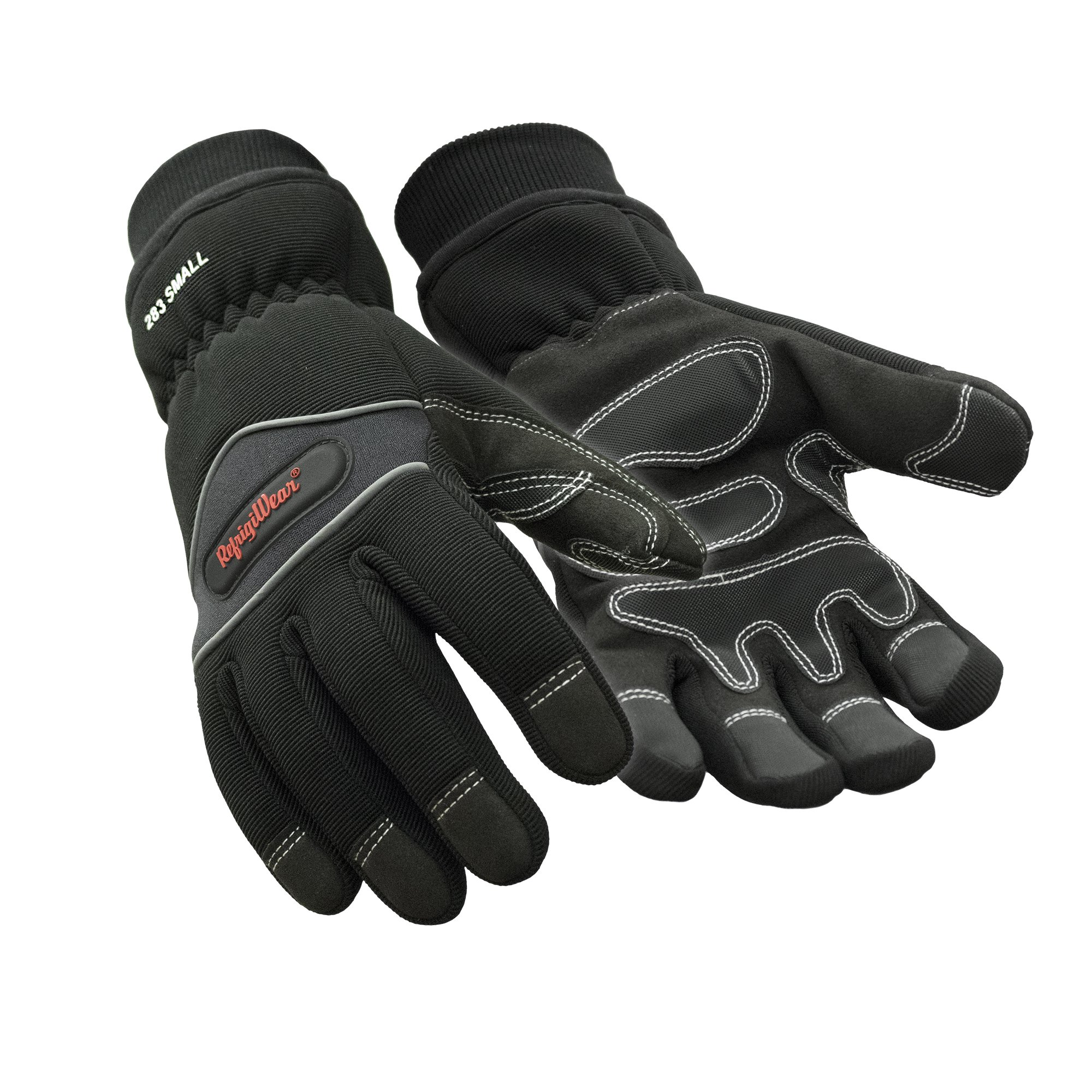 RefrigiWear Waterproof Insulated High Dexterity Gloves (Black, Large)
