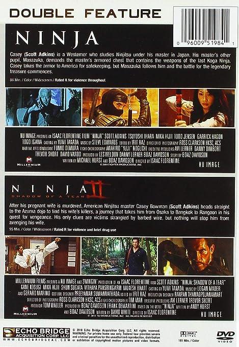 Ninja Double Feature Edizione: Stati Uniti Italia DVD ...