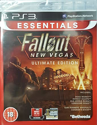 Awesome Fallout New Vegas Ultimate Edition Playstation 3 Essentials Ps3 Short Hairstyles Gunalazisus