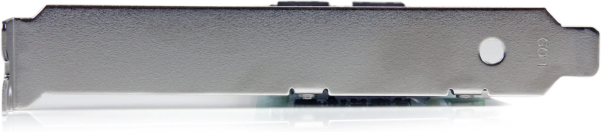 StarTech.com 4 Port PCI Express 2.0 SATA III 6Gbps RAID Controller Card with HyperDuo SSD Tiering - PCIe SATA 3 Controller Adapter (PEXSAT34RH)