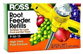Ross Evergreen - Recambios de arbusto y árbol para alimentador de Raíces Rosas, 10-20-20 para Todos los ecengueses y Plantas Amantes del ácido, ...