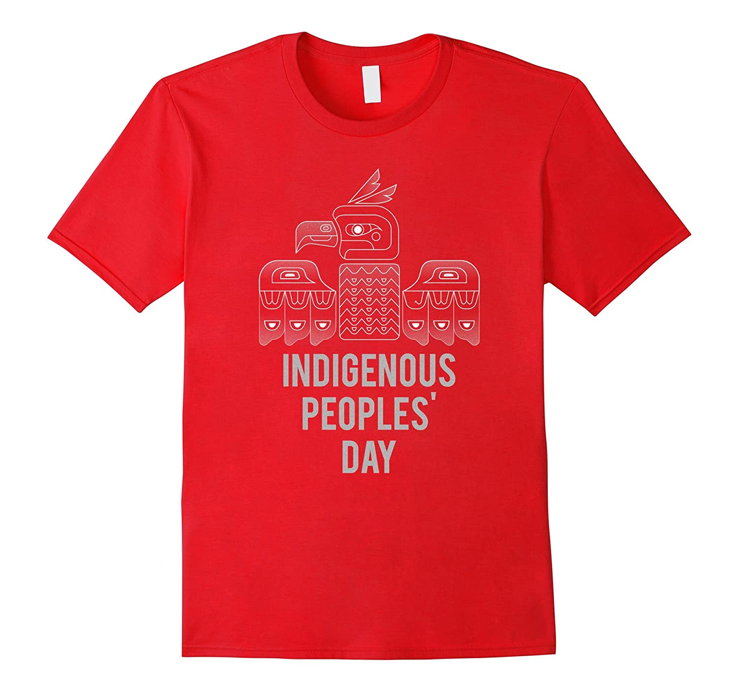 Indigenous Peoples Day Tshirt Native America Totem-TJ