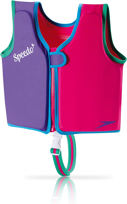 Speedo Swim Flotation Classic Life Vest Begin to Swim UPF 50 Vest