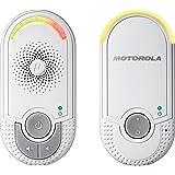 Motorola MBP 8 Babyphone | Digitales Wireless Babyfon | Mit Nachtlicht und DECT-Technologie | Zur Audio-Überwachung | Weiß