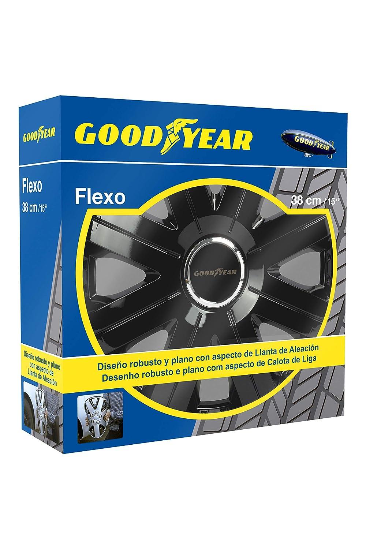 Amazon.com: Goodyear Flexo 755 - Juego de 4 tapacubos para ...