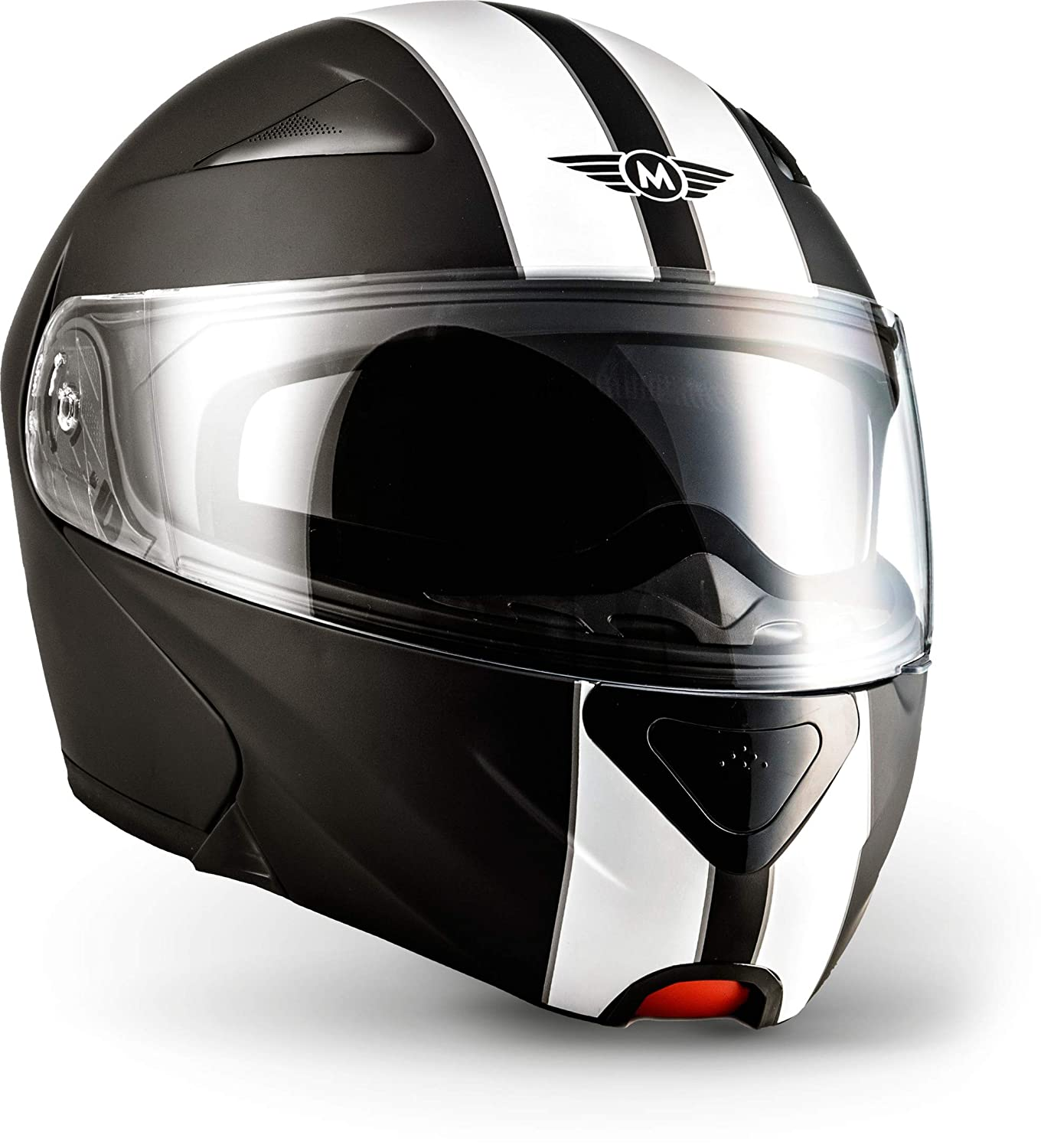 Amazon.es: Moto Helmets F19 Racing Botes de casco de scooter Casco Cruiser Casco Modular de casco de Flip Up de casco Roller de casco - Casco integral de ...