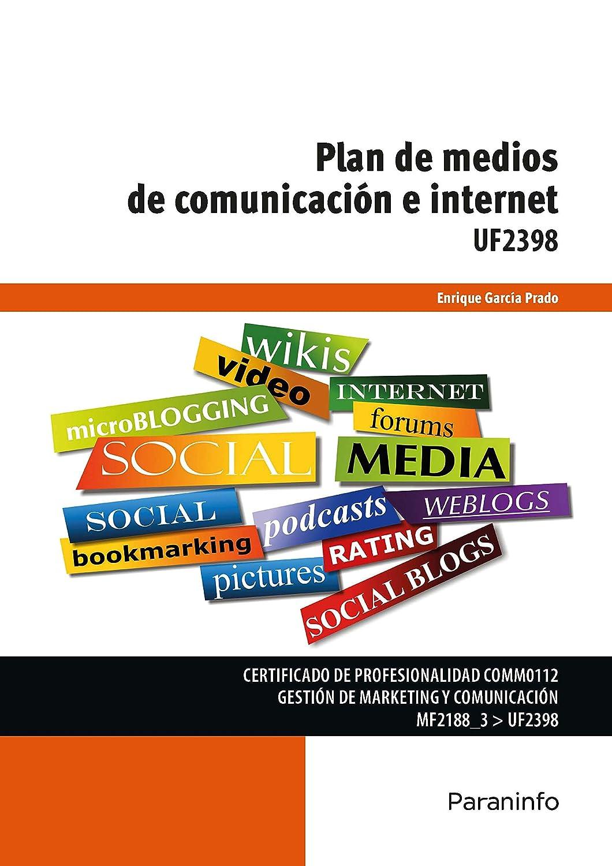 UF2398 - Plan de medios de comunicación e internet eBook: GARCÍA ...