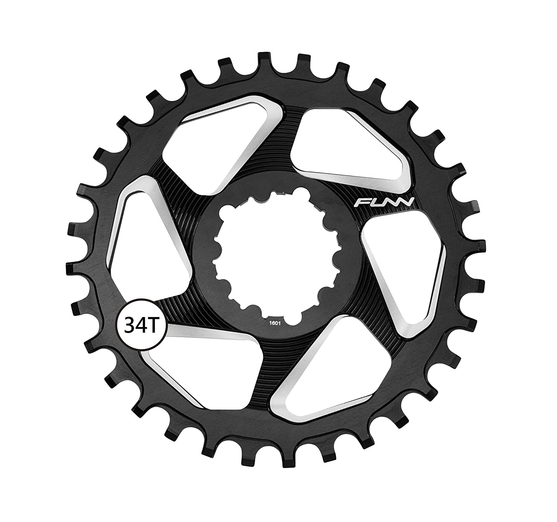 Funn monocorona solo DX 34T SRAM Direct Mount Negro (monocorone)/Narrow Wide Ring solo DX 34T SRAM Direct Mount Black (narrow-wide) 4712931182309