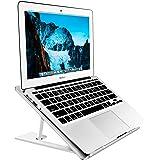 Soundance Aluminum Laptop Stand Adjustable, Compatible with Apple Mac MacBook Notebook, Ventilated Portable Ergonomic Desktop
