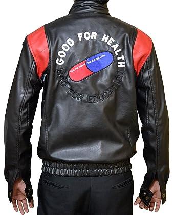 e5faac1fdf (Black   Red) Akira Kaneda Leather Jacket
