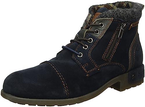 2b4a1322b6c49 Bugatti K32393 - Botas Cortas para Hombre  Amazon.es  Zapatos y complementos
