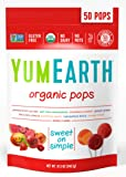 YumEarth Organic Lollipops, 12.3 Ounce Bag (Packaging May Vary)