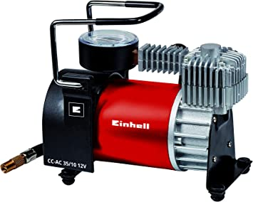 Einhell 4020450 TE-AC 36//6//8 Li of Set-Solo Battery Compressor Red Black