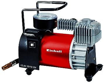 Einhell 2072121 Compresor de Automocion CC-AC 35/10 12 v Presión Trabajo 10 Bar Rojo: Amazon.es: Coche y moto
