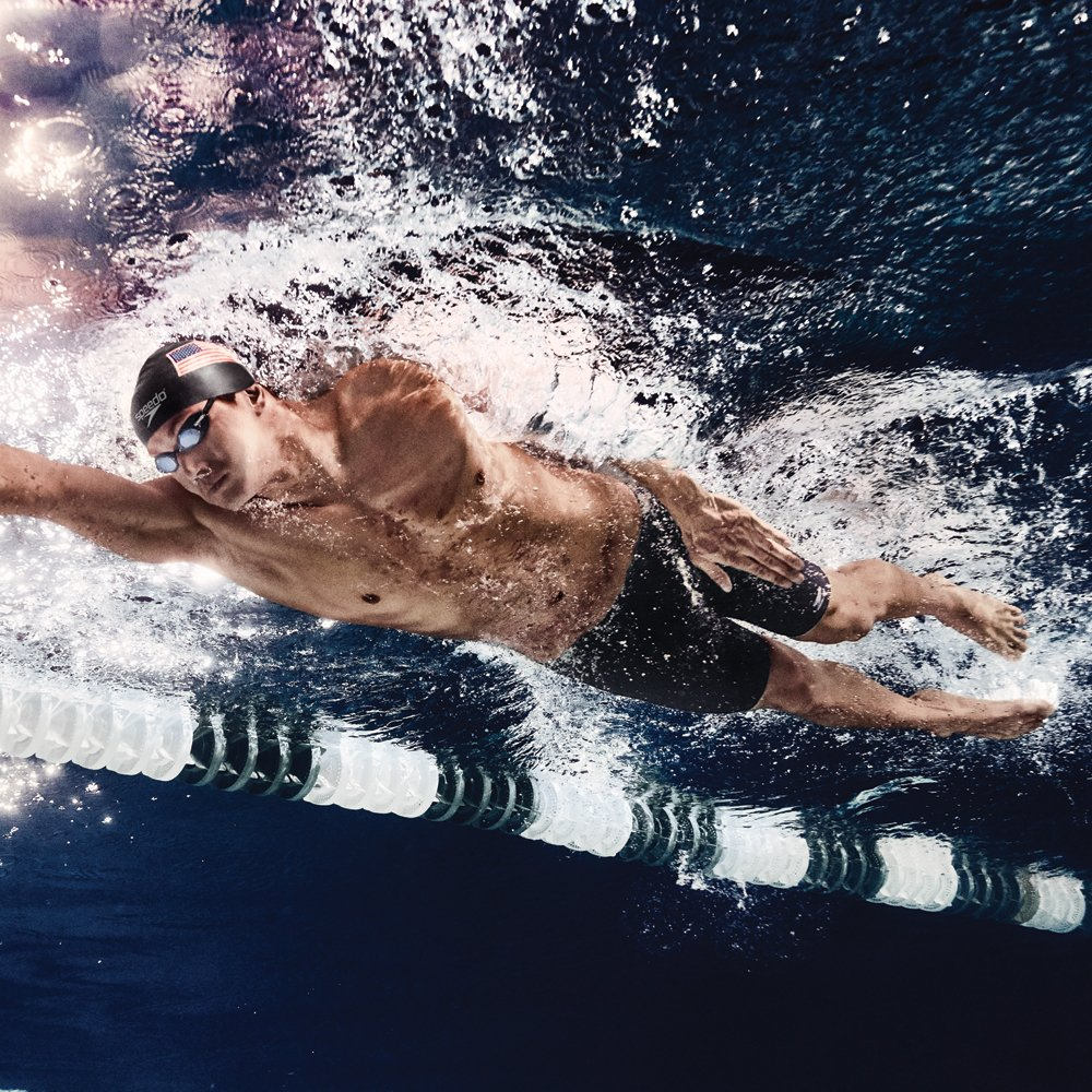 PowerFlex Eco Solid Speedo Men/'s and Women/'s Swimwear 825764-P Speedo Male Jammer Swimsuit