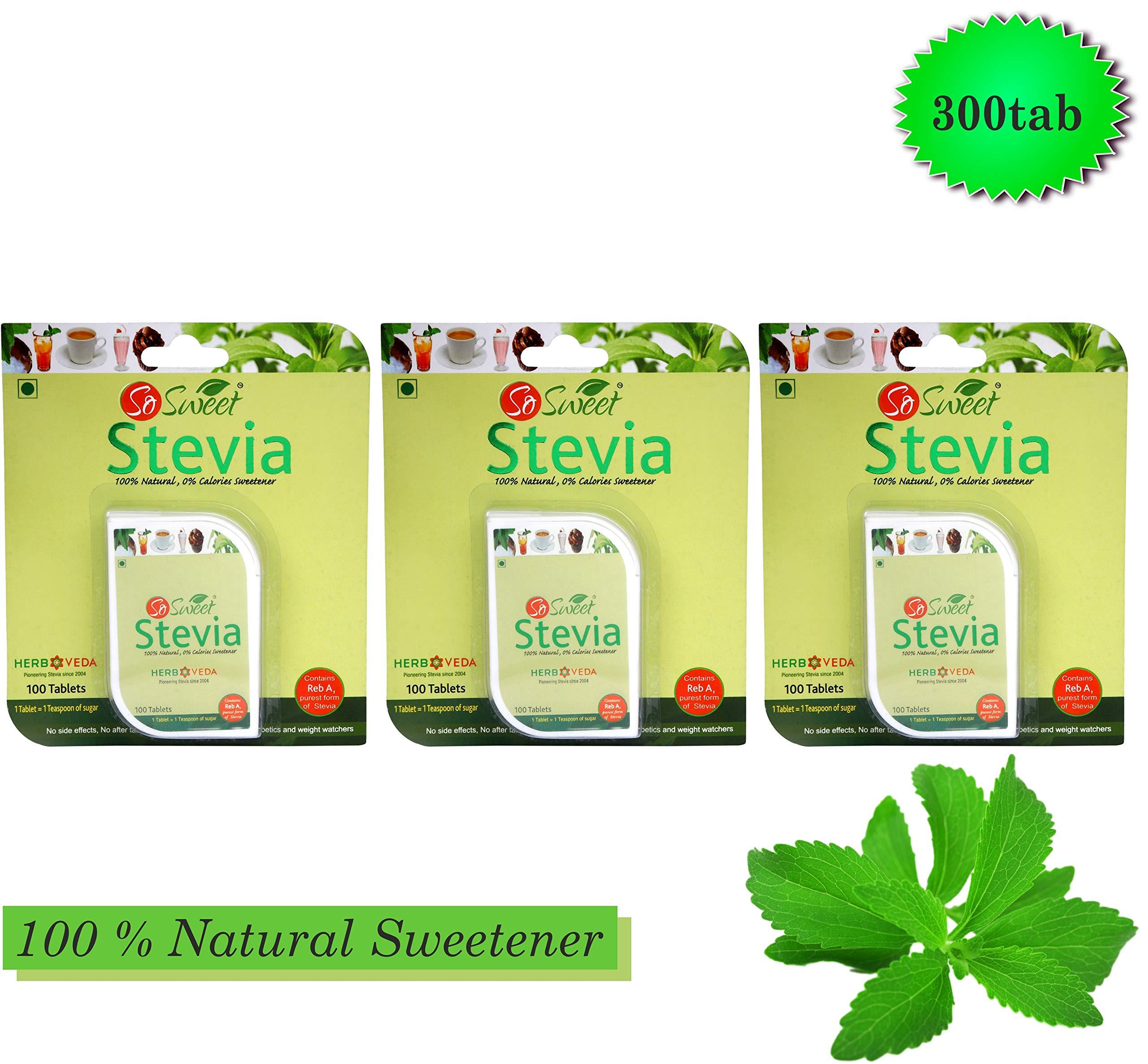 So Sweet 300 Stevia Tablets