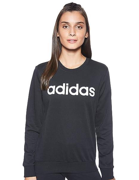 Felpa Essentials Linear Crewneck Adidas
