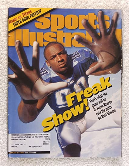 Jevon Kearse - Tennessee Titans - Super Bowl XXXIV Preview - Sports  Illustrated - January 31 d6cd56636