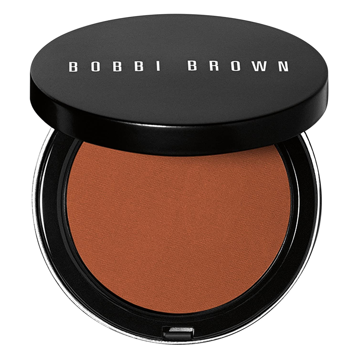 Excelente polvo bronceador Bobbi Brown de color oscuro.