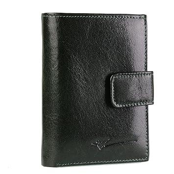 DRAGON - Petit portefeuille femme cuir -