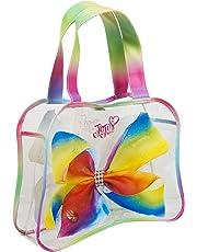 Sambro Jojo Siwa Transparent Tote Perfect Holiday Bag, Multicolour