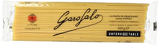 29 opinioni per Garofalo 009, Spaghetti, Pasta di Semola di grano puro, 500g [1 pezzo]