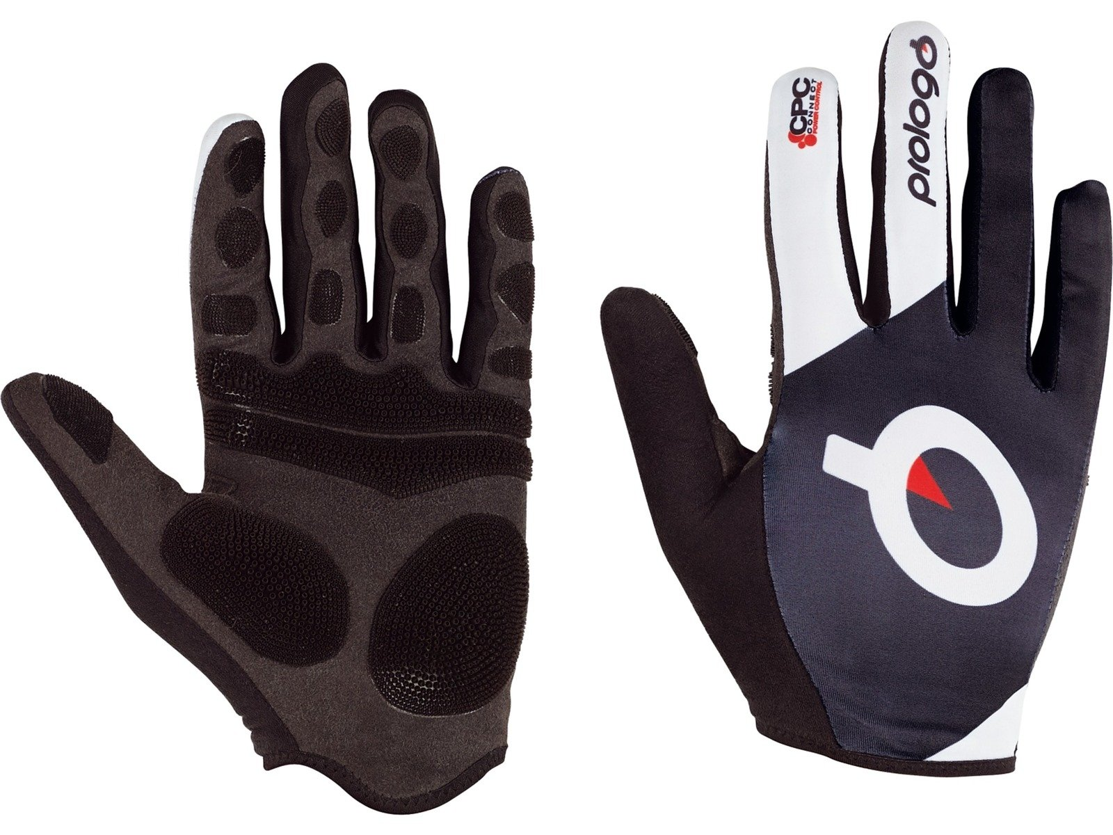 Prologo CPC Cycling Glove Full Finger: Black and White, XL by Prologo (Image #1)