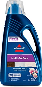 BISSELL, 1789G MultiSurface Floor Cleaning Formula for Crosswave and Spinwave (80 oz)