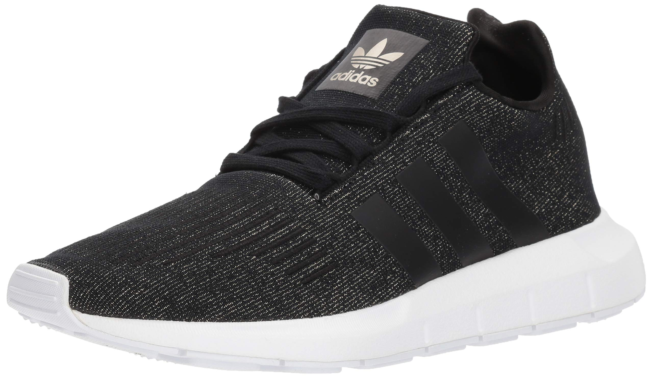 adidas Women's Swift W Running-Shoes,core black/core black/white,11 M US