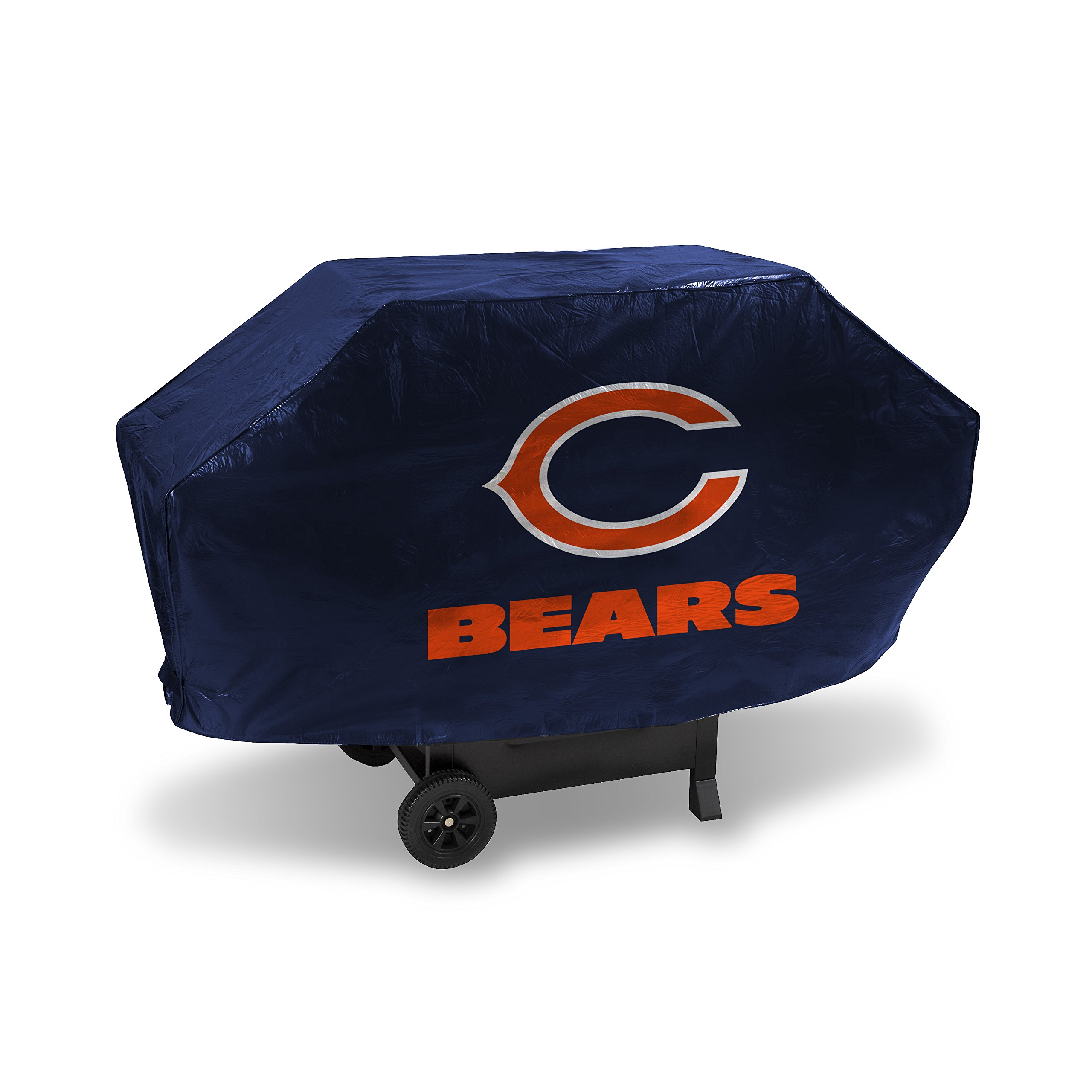 NFL Chicago Bears Vinyl Padded Deluxe Grill Cover
