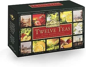 Ahmad Tea Twelve Enveloped, 60 Tea Bags - 120 Gm