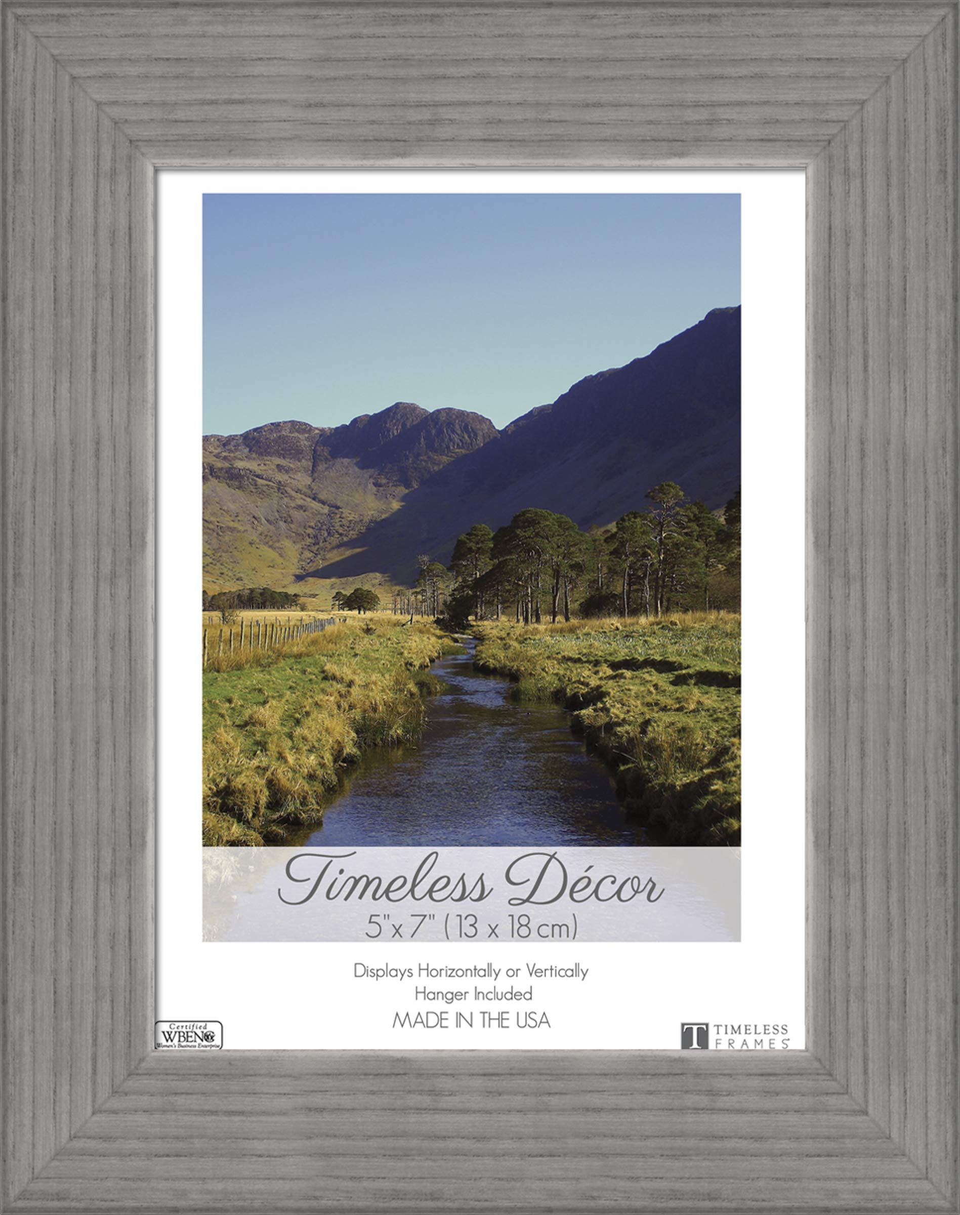 Frames Shea Wood Picture Frame Weather Gray (8 Pack)