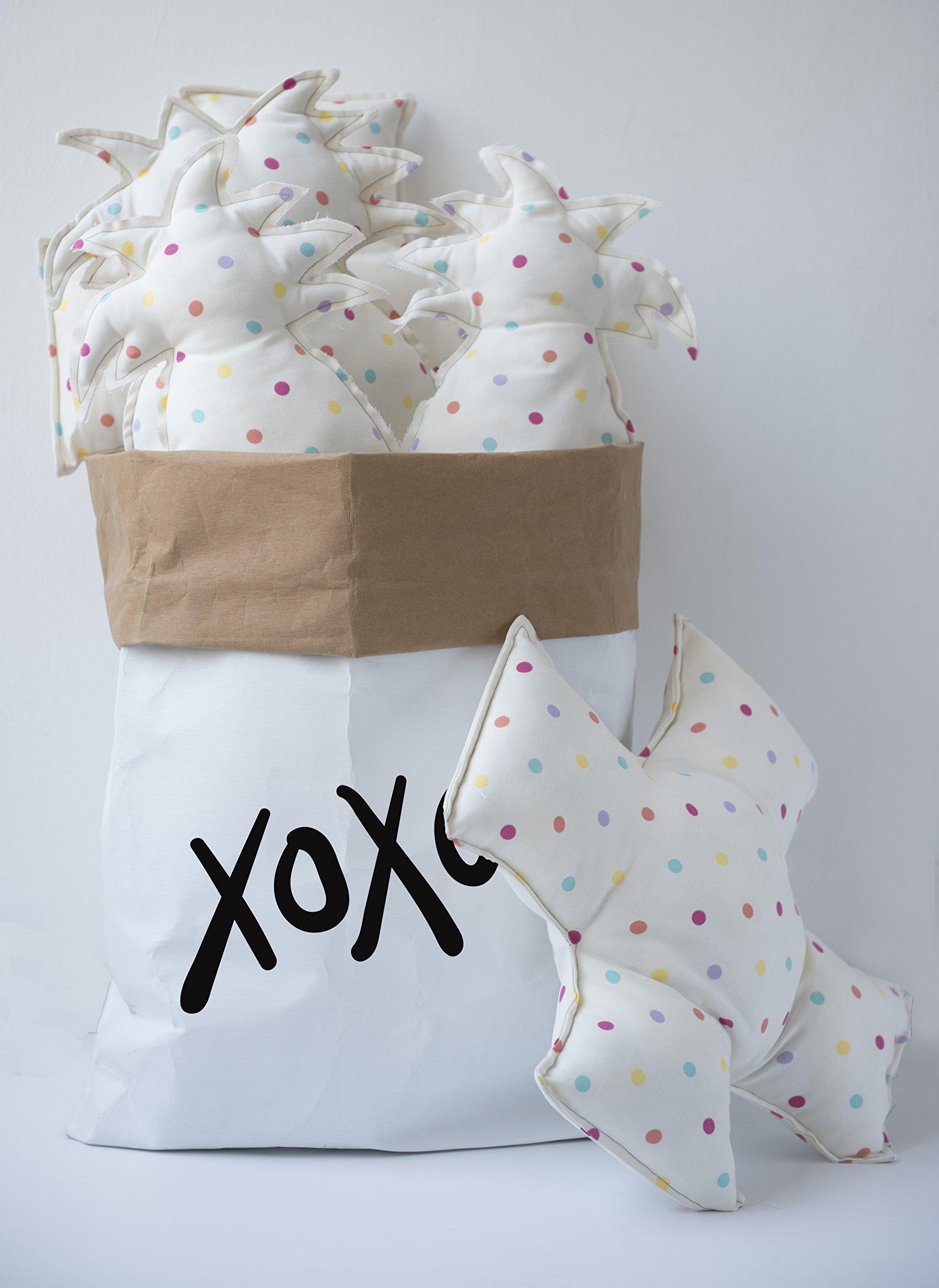 Nursery Interior, Stuffed Animal Storage, Kraft Paper Bag, Kids Room Organization, Shoe Storage