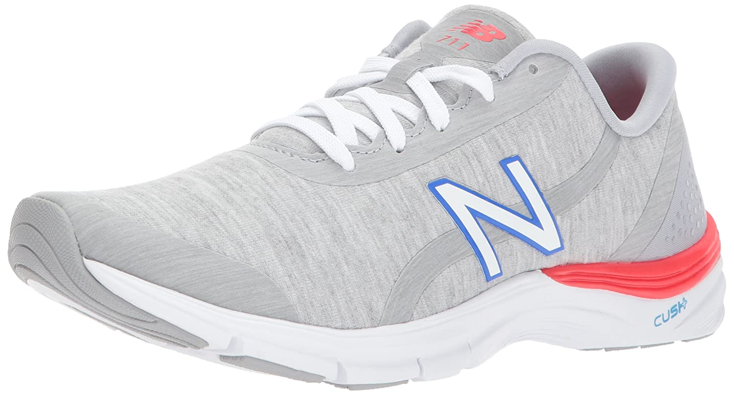 New Balance Women's 711v3 Cross Trainer B01N4HPSGJ 8.5 D US|Silver
