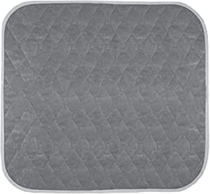 Americare Absorbent Washable Waterproof Seat Protector Pads, Grey, 21 x 22 Inch, 331 Gram