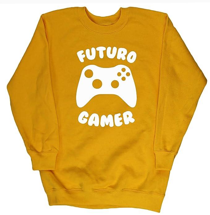 HippoWarehouse Futuro Gamer jersey sudadera suéter derportiva unisex niños niñas: Amazon.es: Ropa y accesorios