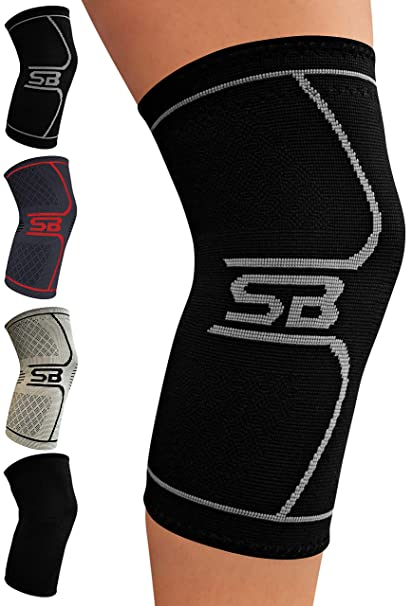 47e0575d98 SB SOX Compression Knee Brace - Great Support That Stays in Place - Perfect  for Recovery, Crossfit, Everyday Use - Best Treatment for Pain Relief, ...