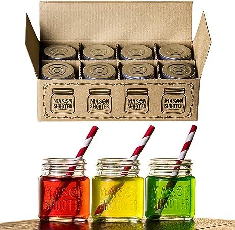Amazon.com: Hayley Cherie - Frascos de vidrio pequeñ ...