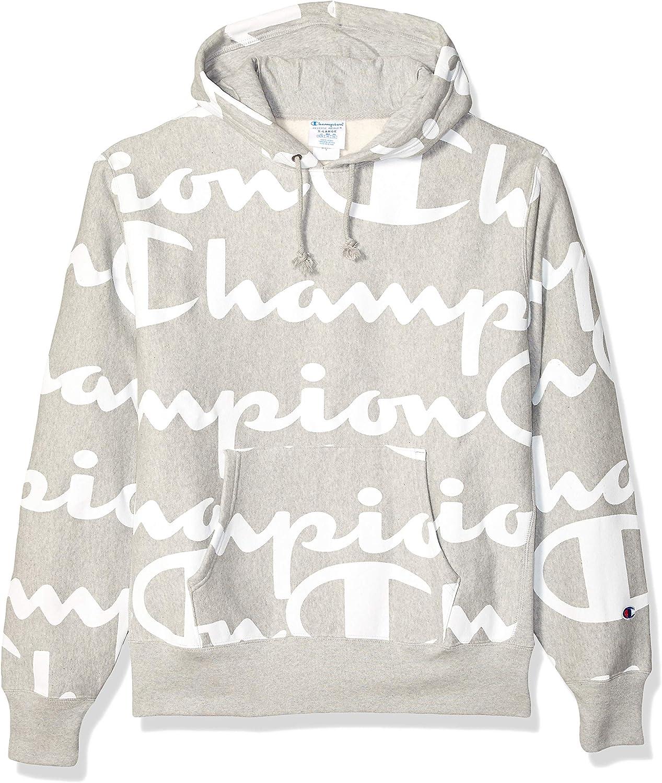 Champion LIFE Men's Reverse Weave Pullover Hood-Print