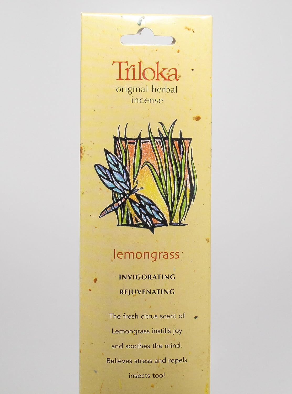 Lemongrass - Triloka Original Herbal Incense Sticks Triloka Herbal Incense Sticks