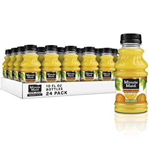 Minute Maid Orange Juice Drinks, 10 fl oz, 24 Pack