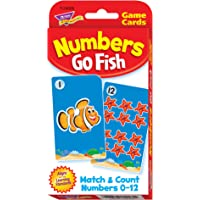 Numbers Go Fish Challenge Cards [Toy]