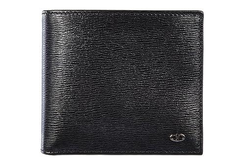 71e717a52 Valentino Garavani cartera billetera bifold de hombre en piel nuevo negro:  Amazon.es: Zapatos y complementos